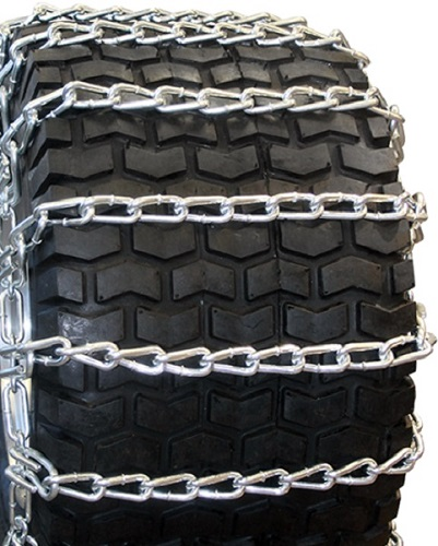 garden tractor tire chains 2-link