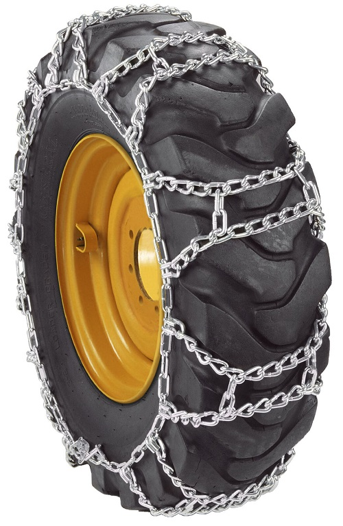 tractor tire chains duo