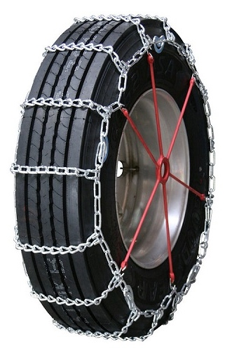 truck tire chains highway service single