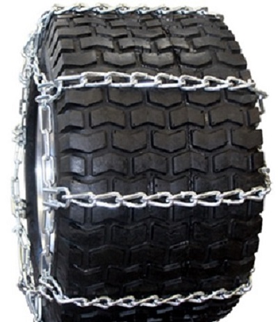 garden tractor tire chains 4-link