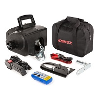 Winch Kit 2,500lb Portable Electric - Kimpex