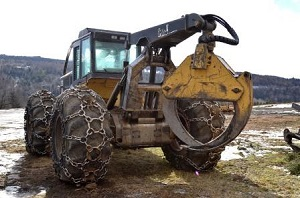 skidder tire chains