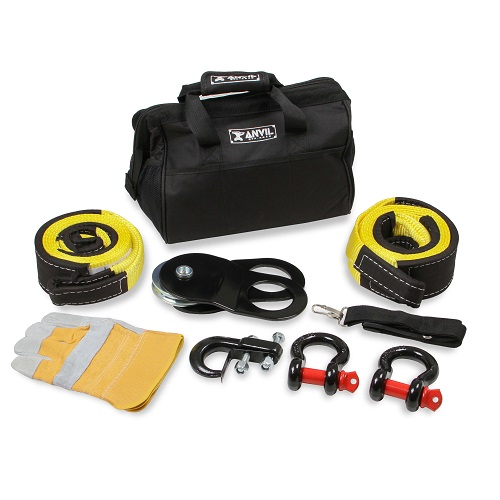 Winch 8 Piece Accessory Kit - Anvil - 1020AOR