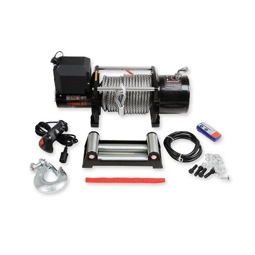 Winch Kit 17,000lb Universal With Metal Cable