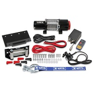 Winch Kit 4,500lb Universal With Metal Cable