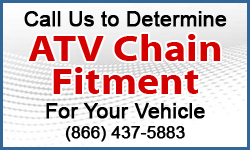 call for atv tire chains fitment