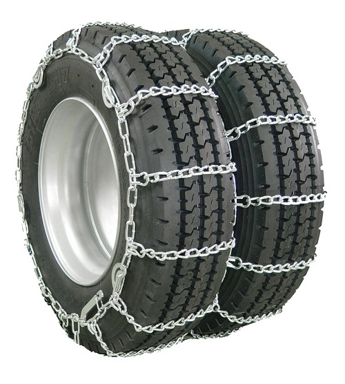 semi truck snow tire chains