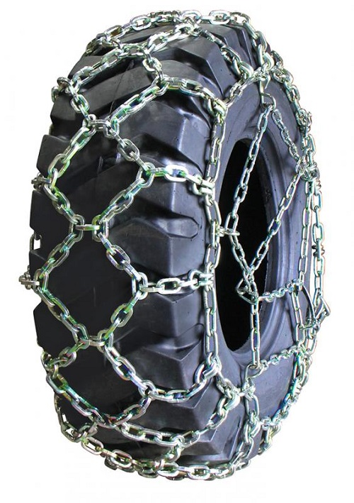 diamond back square link alloy grader tire chains