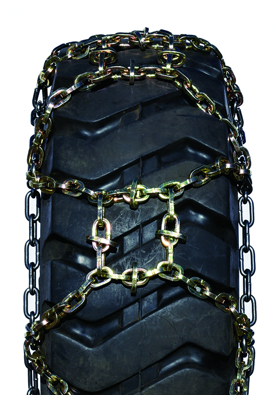 maxtrack square link alloy h-pattern grader tire chains