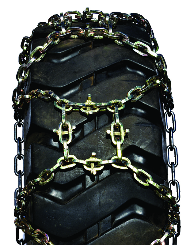 maxtrack u-grip square link alloy h-pattern grader tire chains