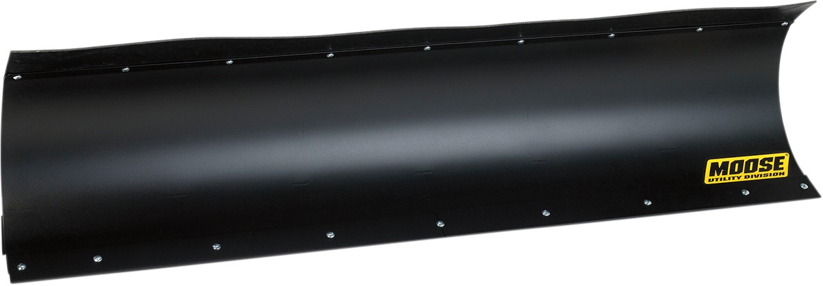 Straight Black With Flap Snow Plow Blades