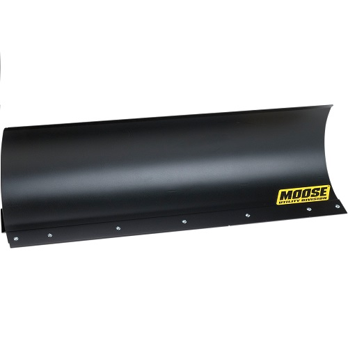 Straight Black Snow Plow Blades