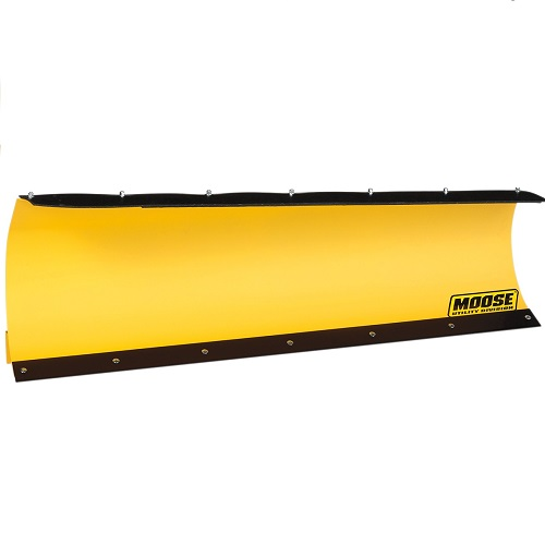 Moose ATV/UTV County Curved Yellow Plow Blades
