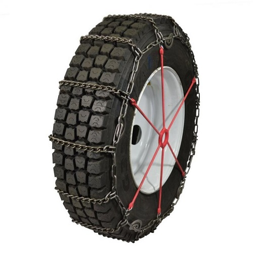 truck tire chains highway service lightweight alloy single with cam