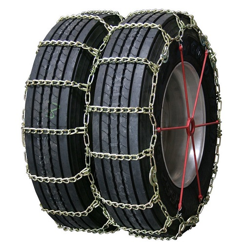 truck tire chains highway service long mileage alloy single with cam