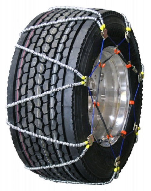 semi/commercial truck volt v-cable alloy wide base tire chains