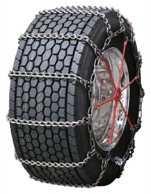 Semi Truck Tire Chains - Wide Base Non-Cam