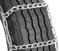 highway service single truck tire chains with cam