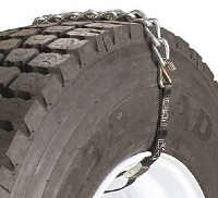 Emergency Truck Chain With Web Fastener and 1 Cross Chain