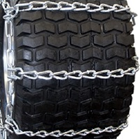 snow blower tire chains 4-link