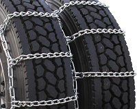 highway service dual truck tire chains