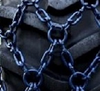 skidder 16mm net tire chains