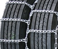 semi/commercial truck highway dual non-cam snow tire chains
