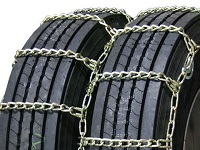 semi/commercial truck highway dual long mileage alloy snow tire chains