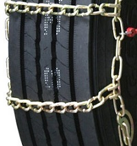 semi/commercial truck highway single long mileage alloy snow tire chains