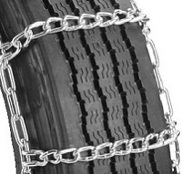 semi/commercial truck highway single non-cam snow tire chains