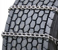semi/commercial truck wide base snow tire chains