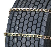 semi/commercial truck wide base 8mm long mileage alloy highway service with cam snow tire chains