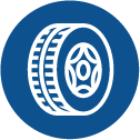 installing tire chains icon