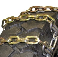 Square 2-Link Alloy Ladder tire chains