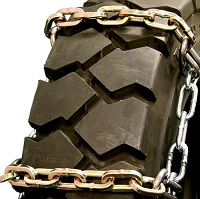 Square 4-Link Alloy Ladder tire chains