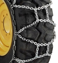Round Link Alloy H-Pattern tire chains