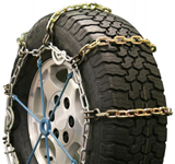 Square Alloy Single Truck Tire Chains