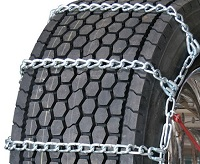 truck tire chains wide base with cam