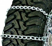 truck tire chains wide base non-cam