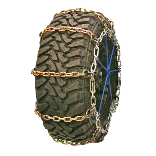 Square Alloy Single Truck Tire Chains With Cam