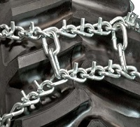 duo v-bar tractor tire chains