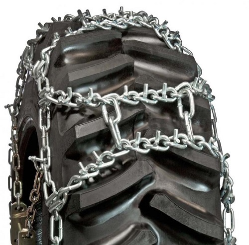tractor tire chains h-pattern v-bar