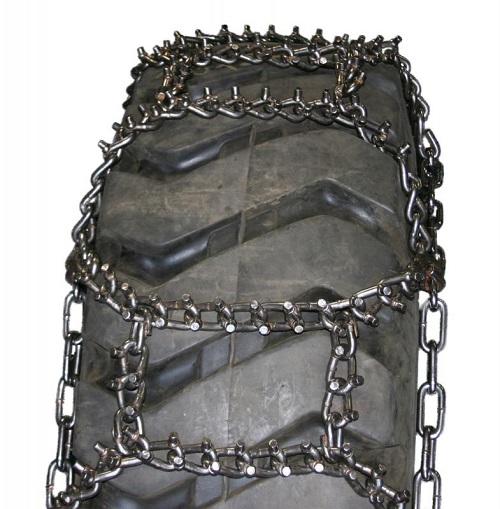 norsemen studded alloy h-pattern tractor tire chains
