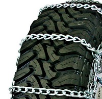 highway service single truck tire chains non-cam