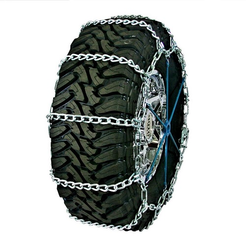 truck tire chains highway service single non-cam