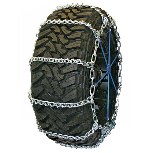 Truck Tire Chains - Wide Base V-Bar Non-Cam