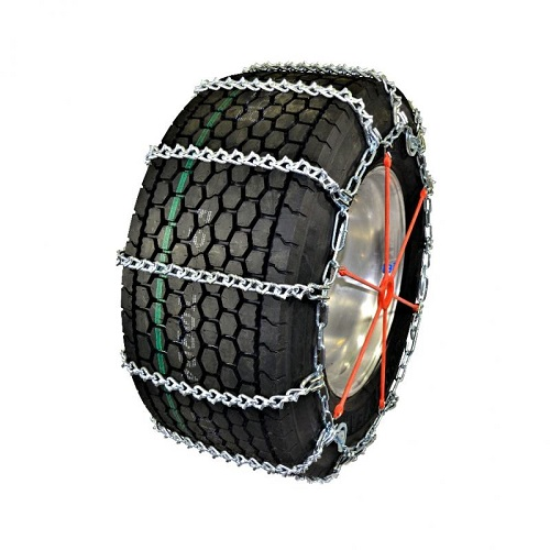 truck tire chains wide base v-bar with cam