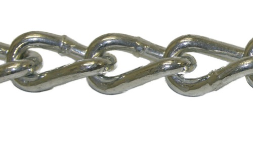 Bulk Twist Link Cross Chain