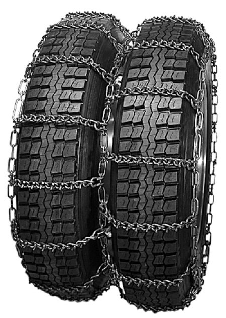 truck tire chains dual v-bar
