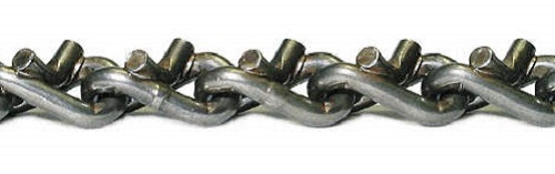closeup grader v-bar twist link